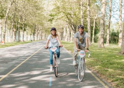 Promenade piste cyclable