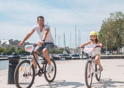 Itinéraire à vélo Caen Ça Bouge