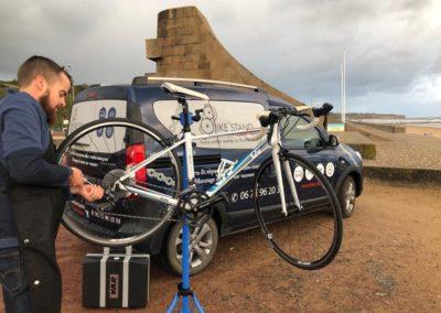 Atelier Réparation de vélos avec Bike Stand
