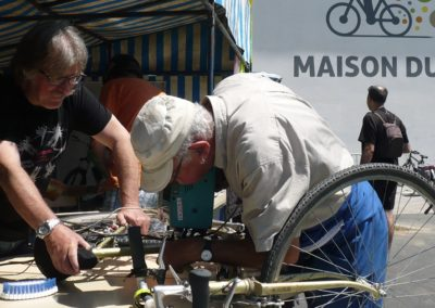 Atelier Marquage bicycode by Les Dérailleurs