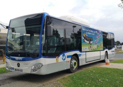 Présentation du Bus Twisto au biogaz
